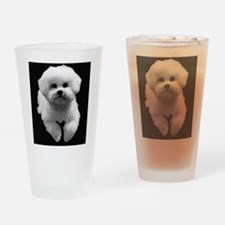 Beau in Black Drinking Glass