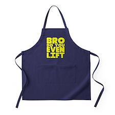 Bro Do You Even Lift Apron (dark)