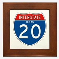 Interstate 20 - TX Framed Tile