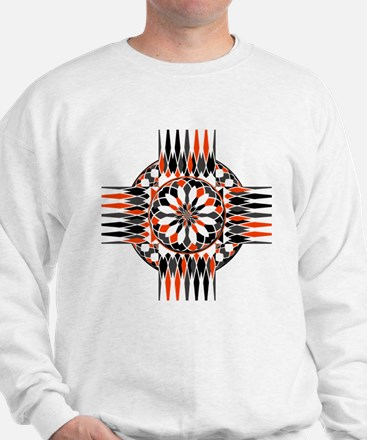 Geometric celtic cross Sweatshirt