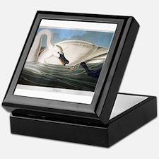 J J Audubon - Swan Keepsake Box