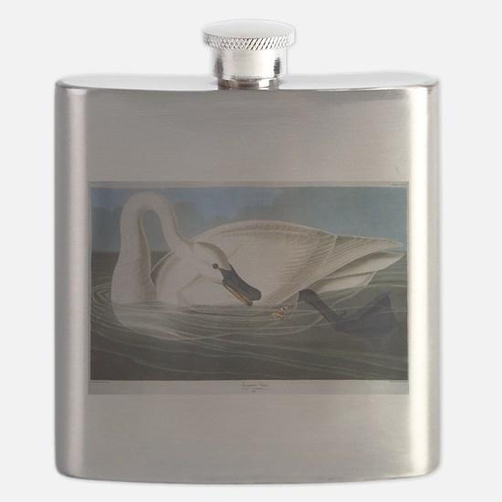 J J Audubon - Swan Flask