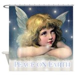 Fairy Calendar December Shower Curtain
