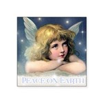 Fairy Calendar December Square Sticker 3