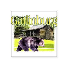 Gatlinburg Bear Rectangle Sticker