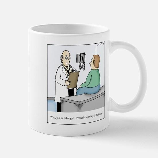 Prescription Drug Deficiency Mugs