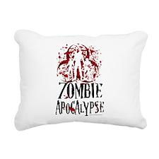 Zombie-Apocalypse.png Rectangular Canvas Pillow