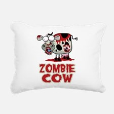 Zombie-Cow.png Rectangular Canvas Pillow