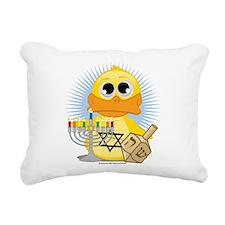 Jewish-Duck.png Rectangular Canvas Pillow