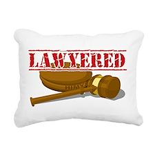 Lawyered.png Rectangular Canvas Pillow