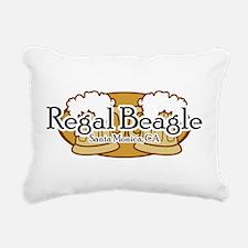 Regal Beagle.png Rectangular Canvas Pillow
