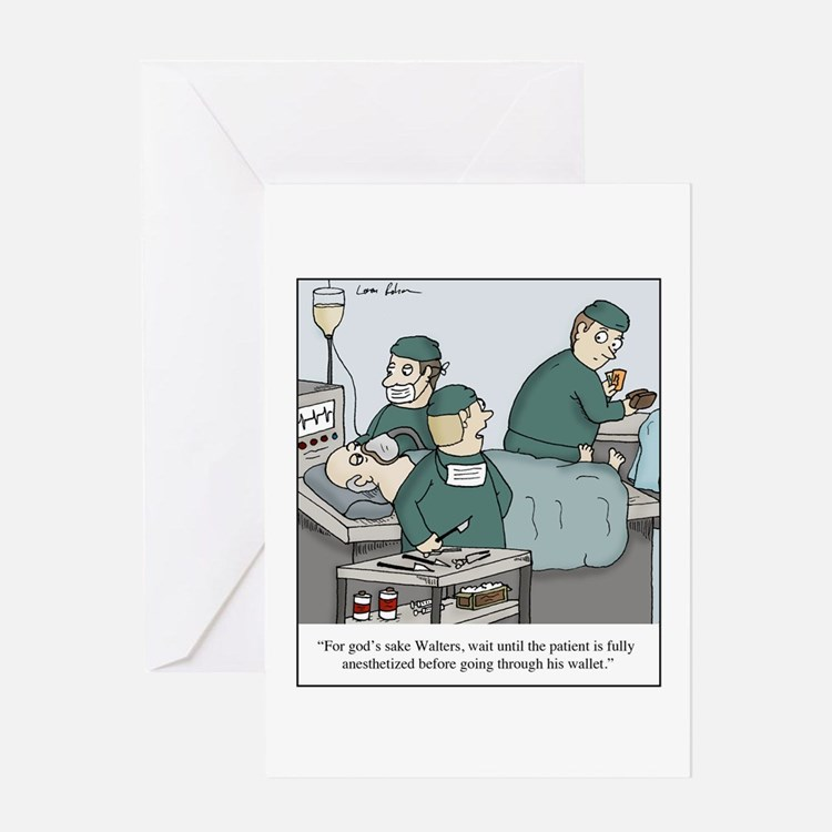 Cute Theft Greeting Card