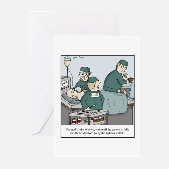 Unique Surgeon Greeting Cards (Pk of 10)
