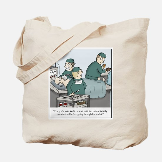 Cute Anesthesiologists Tote Bag