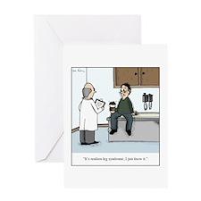 Unique Latte Greeting Card