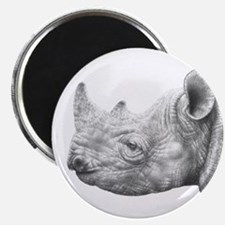 "Black Rhino 2.25"" Magnet (10 pack)"