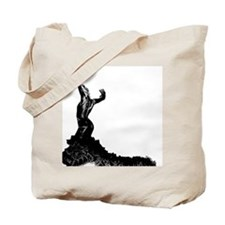 Flamenco dancer bata Tote Bag