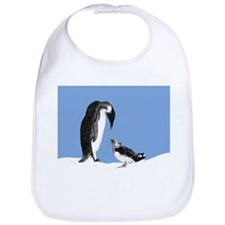 Penguin and puffin Bib