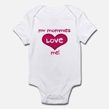 My Mommies Love Me! Infant Bodysuit
