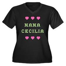 Nana Cecilia Plus Size T-Shirt