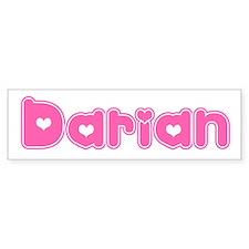 """""""Darian"""" Bumper Bumper Sticker"""