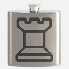 Chess Rook Flask