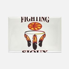 FIGHTING SIOUX Rectangle Magnet