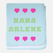 Nana Arlene baby blanket