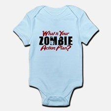 Zombie Action Plan Body Suit