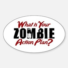 Zombie Action Plan Decal