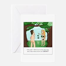 Cute Eden Greeting Card