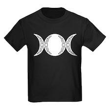 Triple Goddess Moon Symbol T