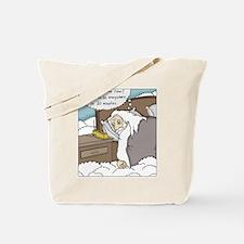 Cute Waking up Tote Bag