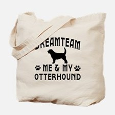 Otterhound Dog Designs Tote Bag