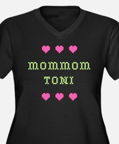 MomMom Toni Plus Size T-Shirt