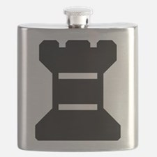 Rook Chess Piece Flask