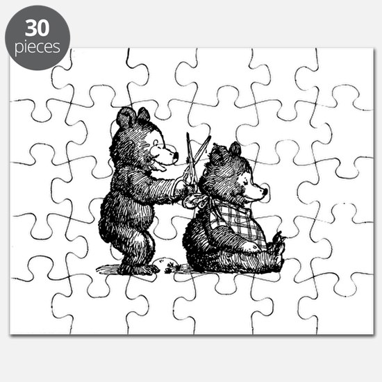Beary Nice Haircut Puzzle