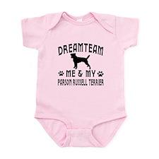 Parson Russell Terrier Dog Designs Infant Bodysuit