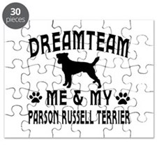 Parson Russell Terrier Dog Designs Puzzle