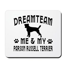 Parson Russell Terrier Dog Designs Mousepad