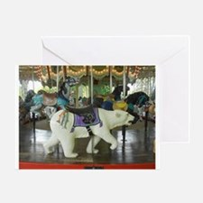 Life is a Merry-Go-Round Greeting Card