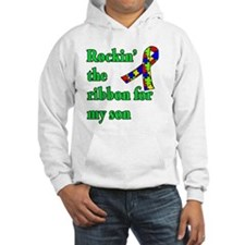 Autism Ribbon for Son Hoodie