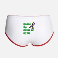 Autism Ribbon for Son Women's Boy Brief