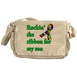 Autism awareness Messenger Bags & Laptop Bags