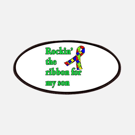Autism Ribbon for Son Patches
