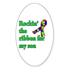 Autism Ribbon for Son Decal