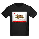 California bear Kids T-shirts (Dark)