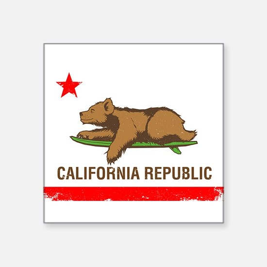 Surfing CA cub Sticker