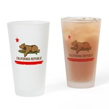 Surfing CA cub Drinking Glass