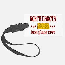 North Dakota Best Luggage Tag